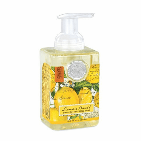 Michel Design Works Lemon Basil Foaming Soap