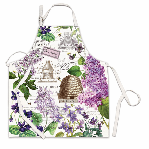 Michel Design Works Lilac and Violets Apron