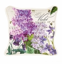 Michel Design Works Lilac and Violets Square Pillow