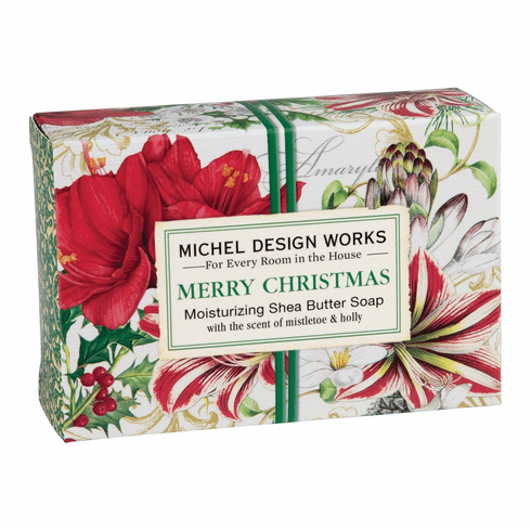 Michel Design Works Merry Christmas 4.5 oz. Boxed Soap
