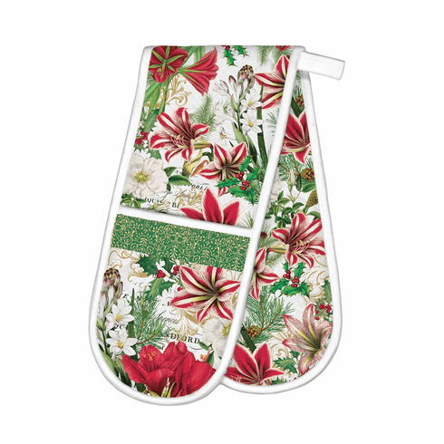 Michel Design Works Merry Christmas Double Oven Glove