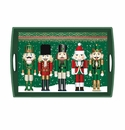 Michel Design Works Nutcracker Large Decoupage Wooden Tray