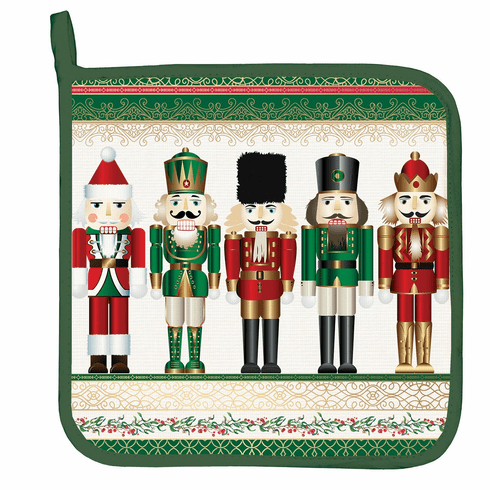 Michel Design Works Nutcracker Potholder