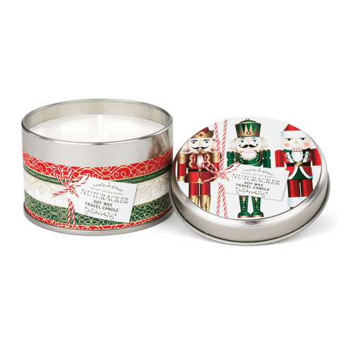 Michel Design Works Nutcracker Travel Candle