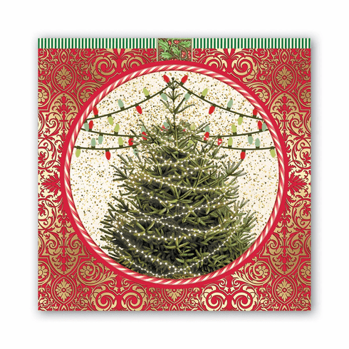 Michel Design Works O Tannenbaum Luncheon Napkin