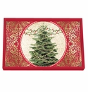 Michel Design Works O Tannenbaum Vanity Decoupage Wooden Tray