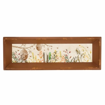 Michel Design Works Oatmeal & Honey Fir Wood Vanity Tray