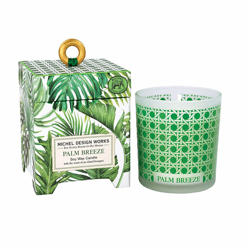 Michel Design Works Palm Breeze 6.5 oz. Soy Wax Candle