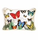 Michel Design Works Papillon Rectangular Pillow