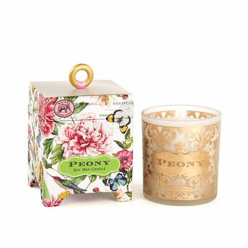 Michel Design Works Peony 6.5 oz. Soy Wax Candle
