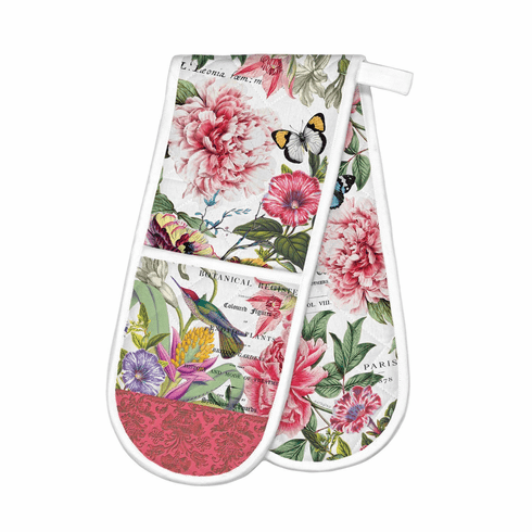 Michel Design Works Peony Double Oven Glove