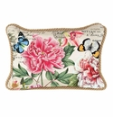 Michel Design Works Peony Rectangular Pillow