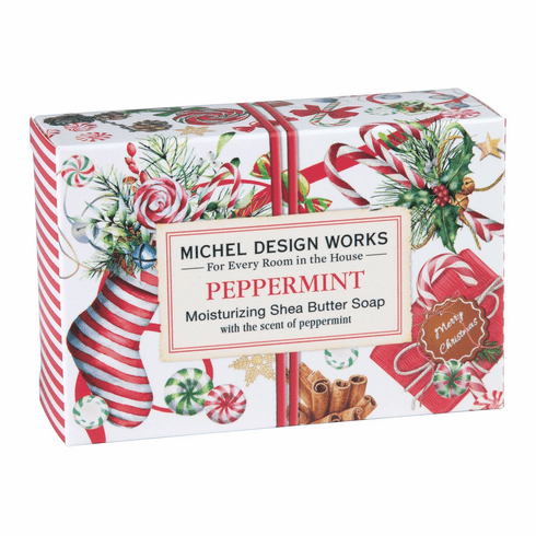 Michel Design Works Peppermint 4.5 oz. Boxed Soap