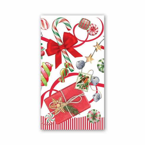 Michel Design Works Peppermint Hostess Napkin