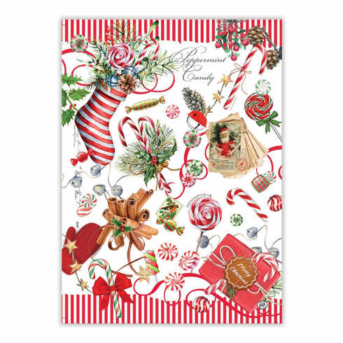Michel Design Works Peppermint Kitchen Towel