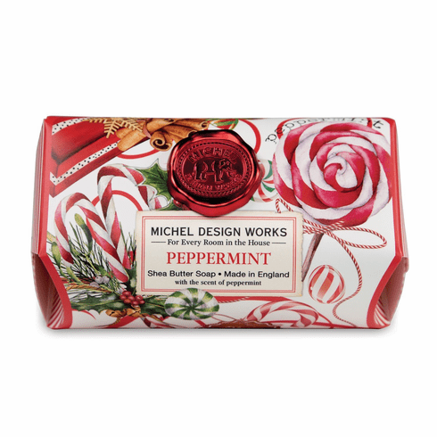 Michel Design Works Peppermint Large Bath Soap Bar