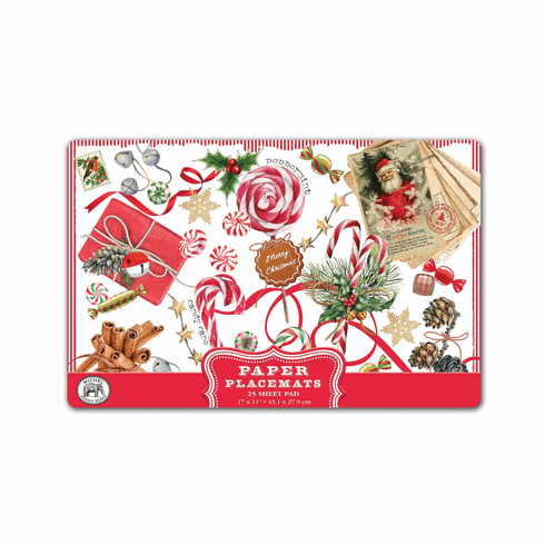 Michel Design Works Peppermint Placemats