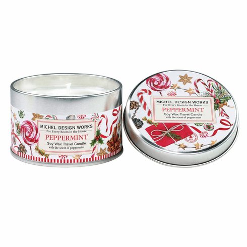 Michel Design Works Peppermint Travel Candle