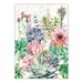 Michel Design Works Pink Cactus Kitchen Towel