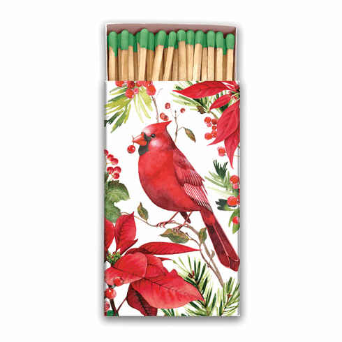 Michel Design Works Poinsettia Matchbox