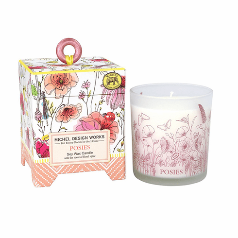 Michel Design Works Posies 6.5 oz. Soy Wax Candle