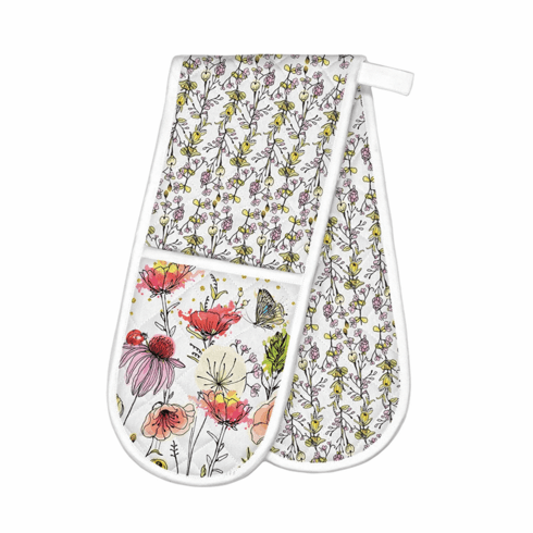 Michel Design Works Posies Double Oven Glove
