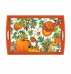 Michel Design Works Pumpkin Melody Large Decoupage Wooden Tray