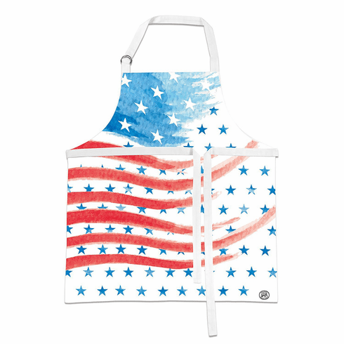 Michel Design Works Red, White & Blue Apron
