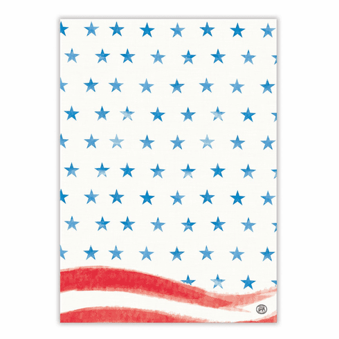 Michel Design Works Red, White & Blue Kitchen Towel