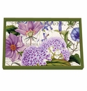 Michel Design Works Rhapsody Vanity Decoupage Wooden Tray