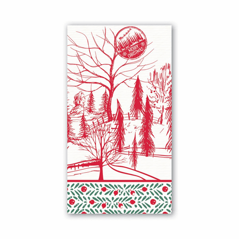 Michel Design Works Santa's Eve Hostess Napkin