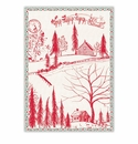 Michel Design Works Santa's Eve Kitchen Towel