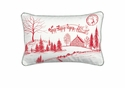 Michel Design Works Santa's Eve Rectangular Pillow