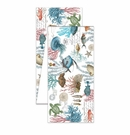 "Michel Design Works Sea Life 108"" x 16.5"" Turkish Cotton Fabric Table Runner"
