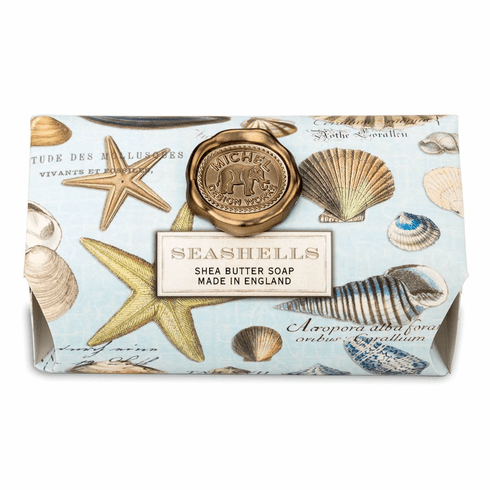 Michel Design Works Seashells Large Bath Soap Bar