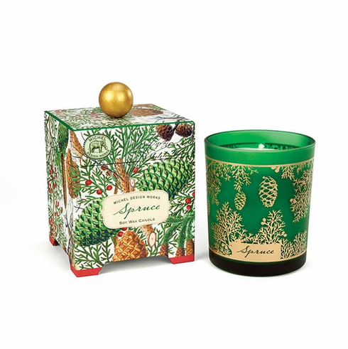 Michel Design Works Spruce 14 oz. Soy Wax Candle