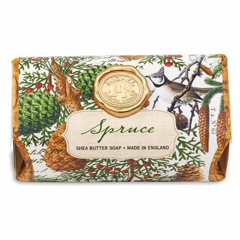 Michel Design Works Spruce Large Bath Soap Bar