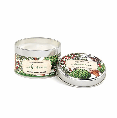 Michel Design Works Spruce Travel Candle