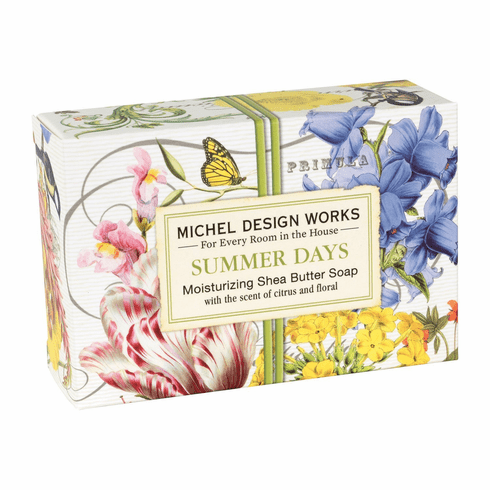 Michel Design Works Summer Days 4.5 oz. Boxed Soap