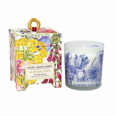 Michel Design Works Summer Days 6.5 oz. Soy Wax Candle