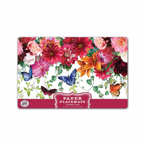 Michel Design Works Sweet Floral Melody Placemats