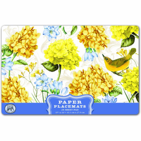 Michel Design Works Tranquility Paper Placemats