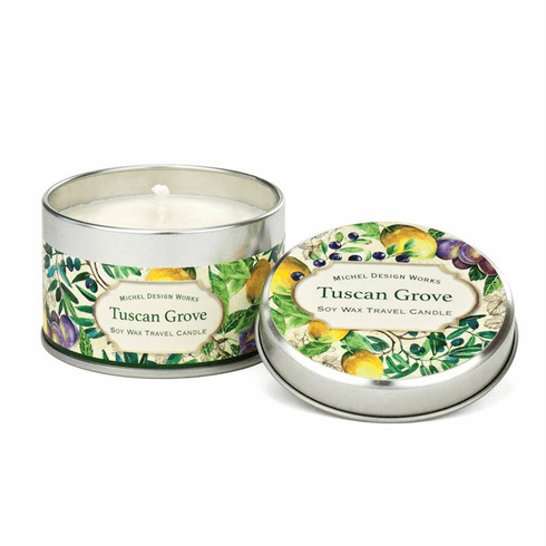Michel Design Works Tuscan Grove Travel Candle