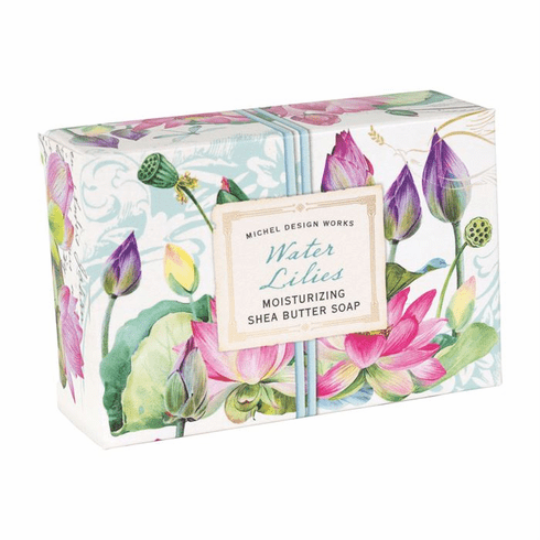 Michel Design Works Water Lilies 4.5 oz. Boxed Soap