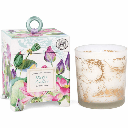 Michel Design Works Water Lilies 6.5 oz. Soy Wax Candle
