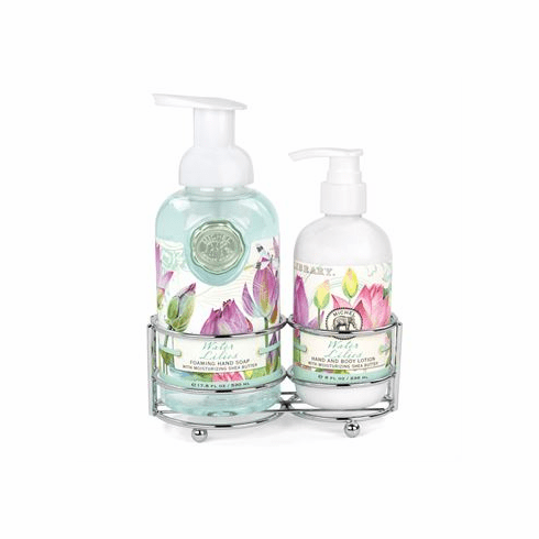 Michel Design Works Water Lilies Handcare Caddy