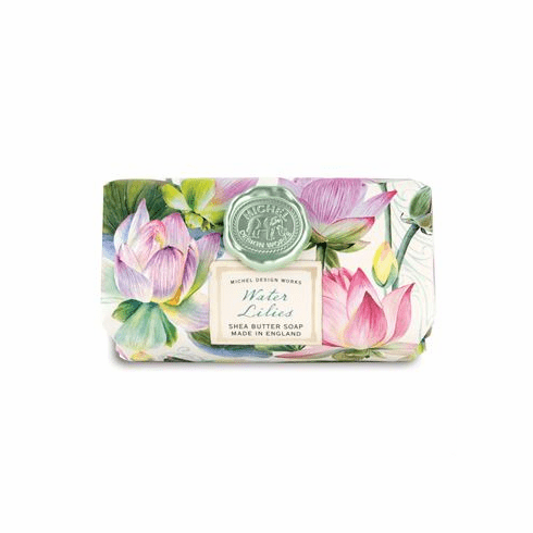 Michel Design Works Water Lilies Large Bath Soap Bar