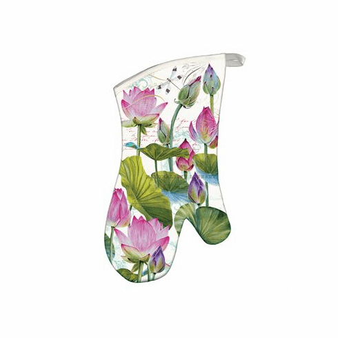 Michel Design Works Water Lilies Oven Mitt