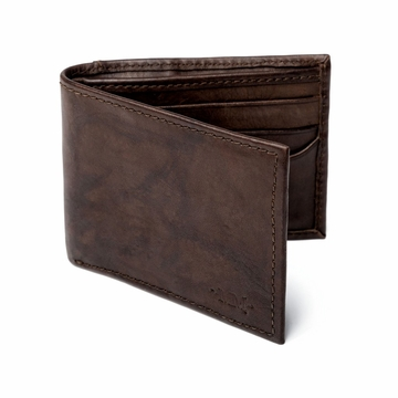 Mission Mercantile Benjamin Leather Bifold with Front Pocket Wallet