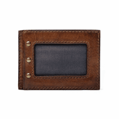 Mission Mercantile Benjamin Leather Front Pocket Wallet